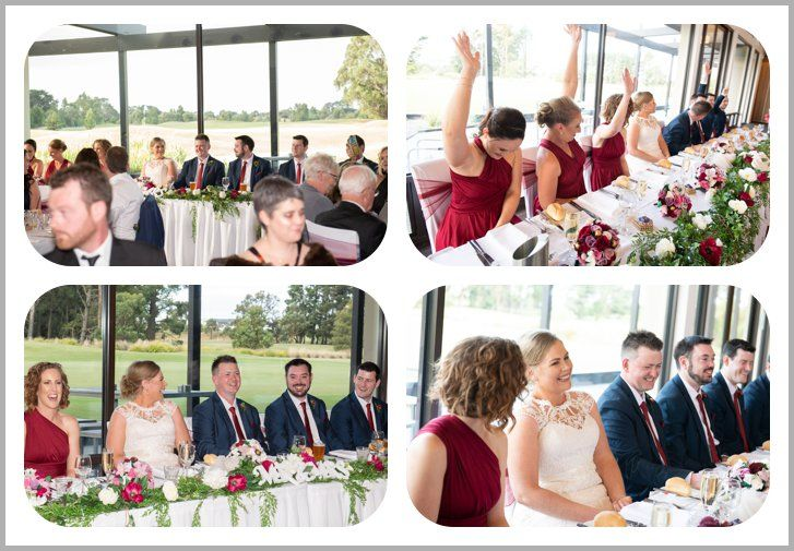 Ballarat Golf Club Wedding Photographer Reception Venue