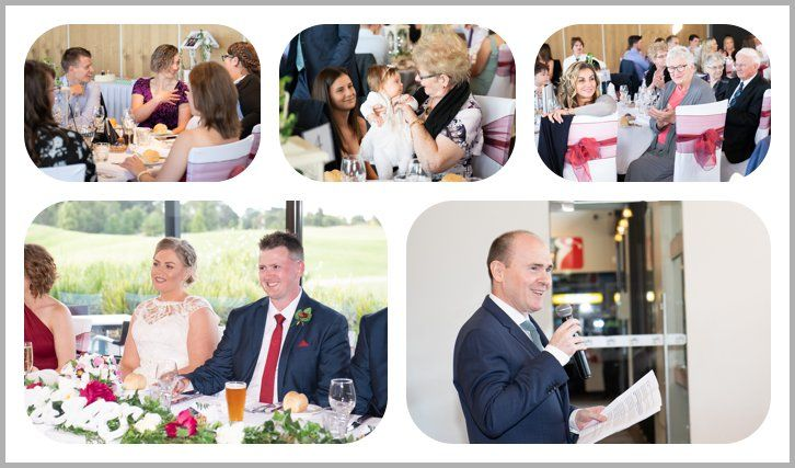 Ballarat Golf Club Wedding Photographer Reception