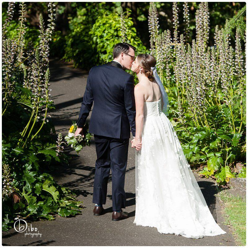 Fitzroy Gardens wedding photographs