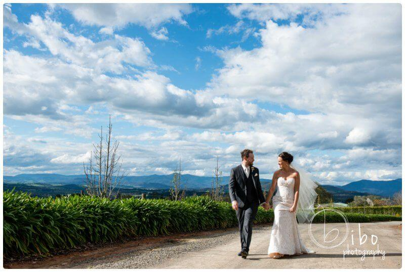 Incredible wedding photos Yarra Valley