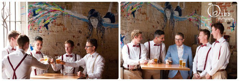 Mitchell Harris Wine Bar weddings