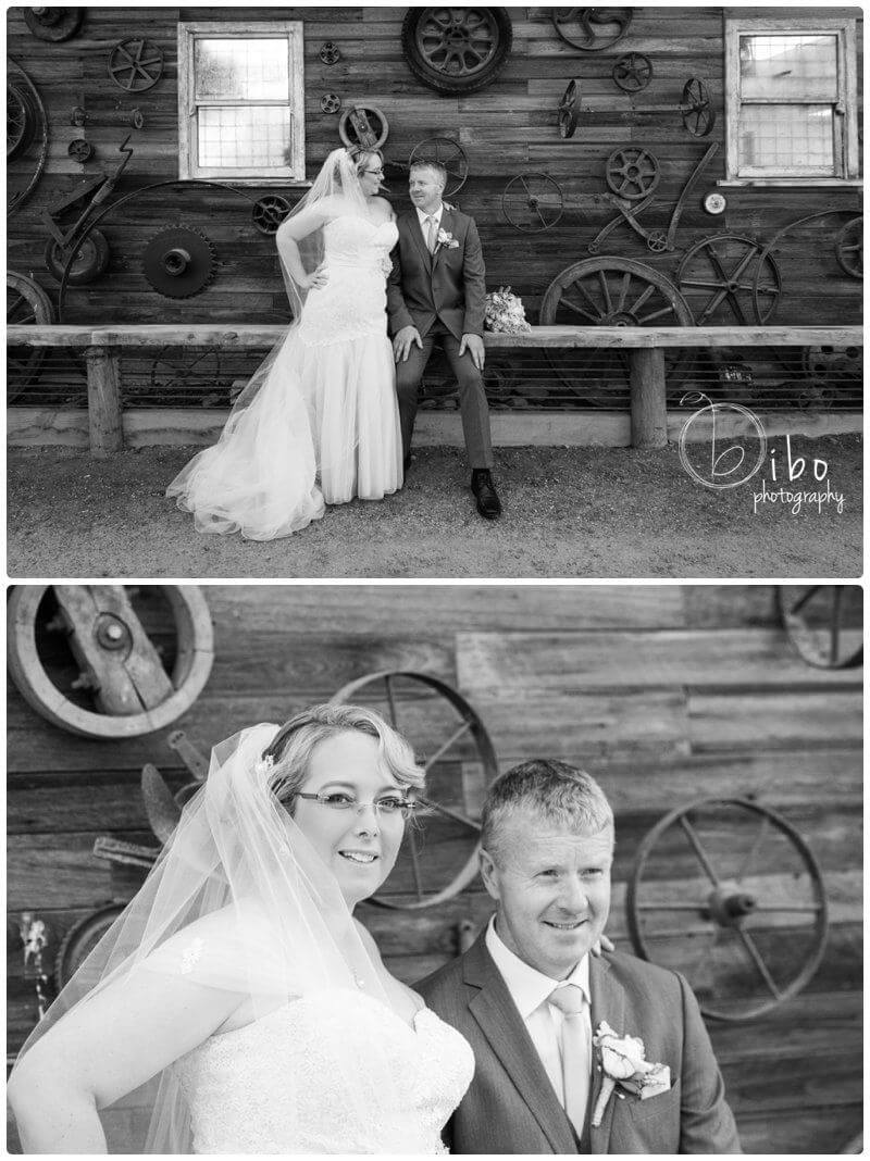 Wedding photography rustic style venue