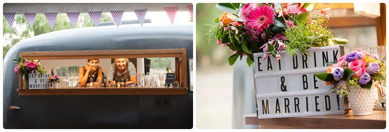 Wedding reception bar ideas